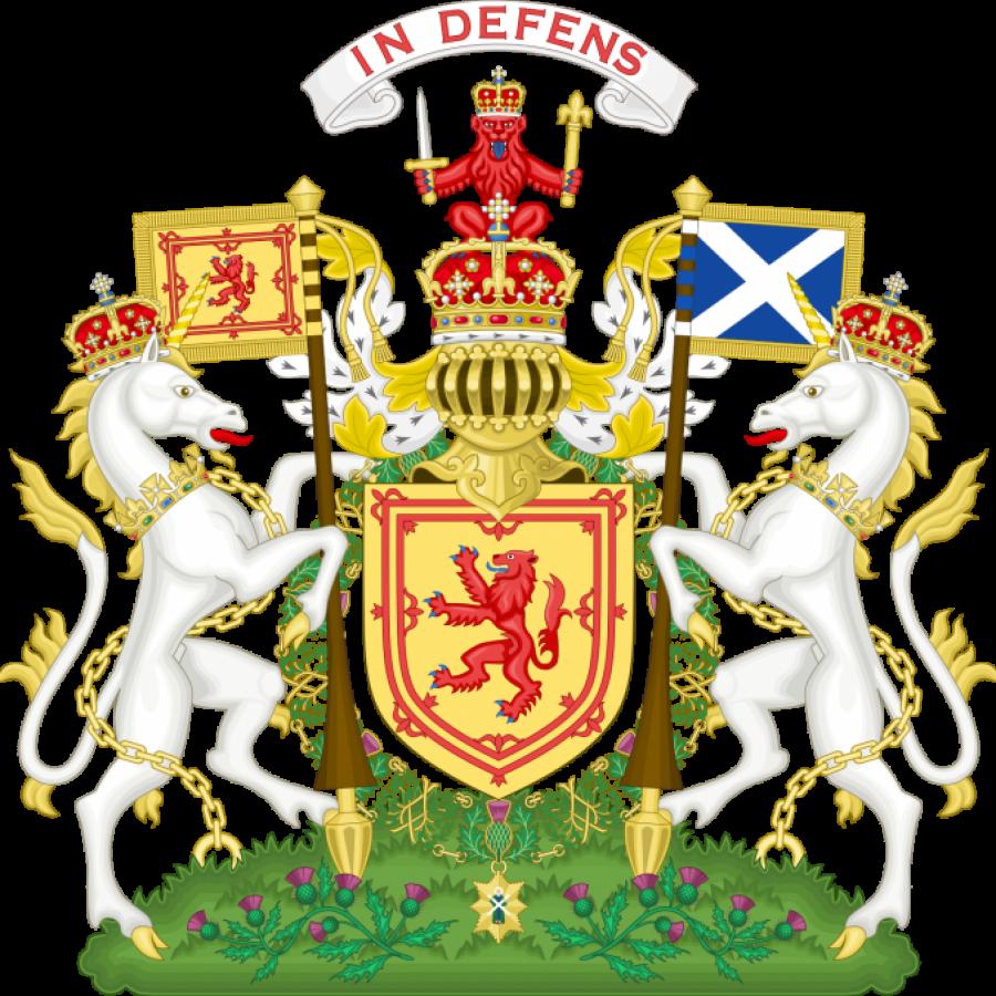 герб с единорогом