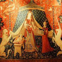 Единороги, Христос и Мария Магдалина