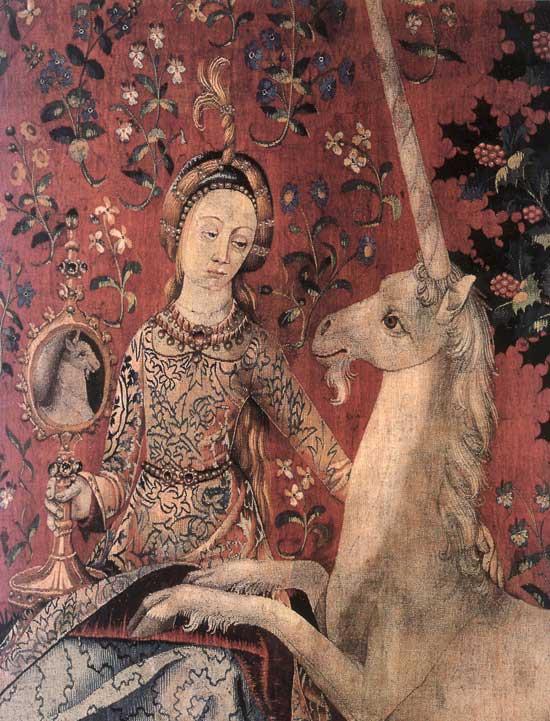 Дева и Единорог ... душа и желание