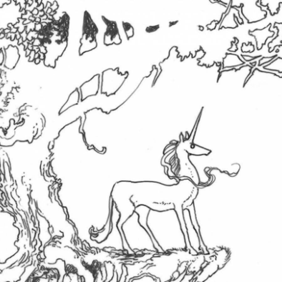 рисунок единорога