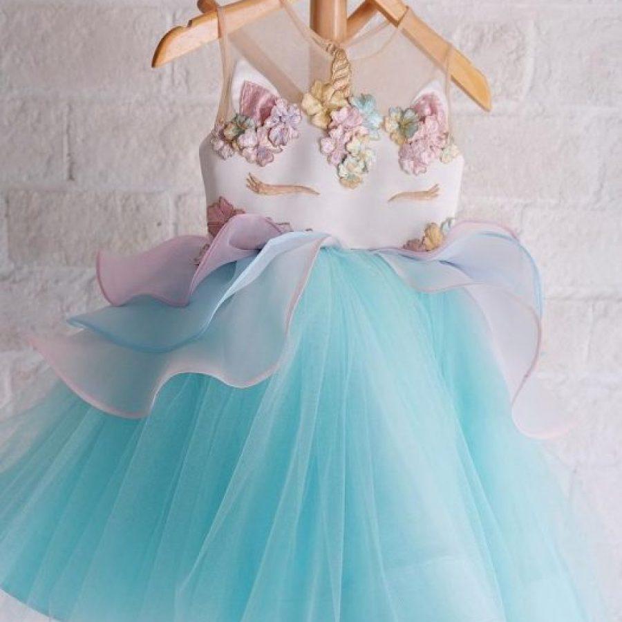 платье-единорог